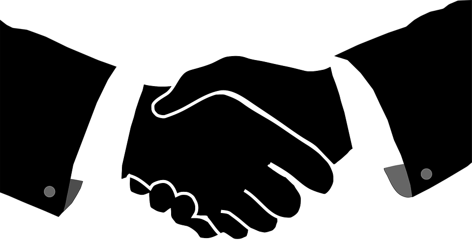 Greeting, Hands, Handshake, Shaking - Handshake PNG HD