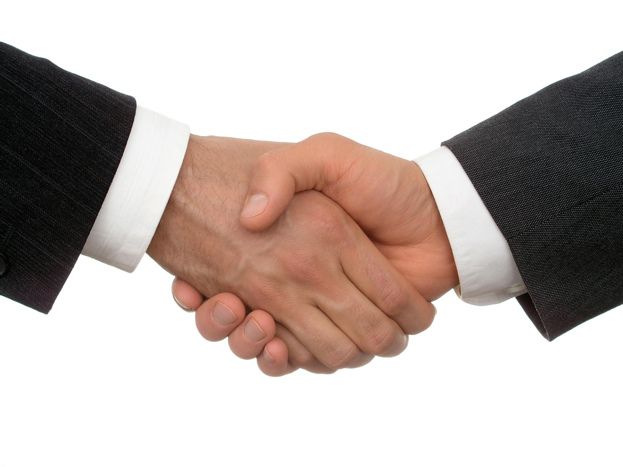 Our Handshake is Our Contract - Handshake PNG HD