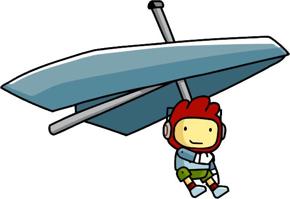 Hang Glider Using.png - Hang Gliding PNG