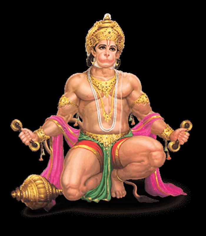 Hanuman PNG-PlusPNG.com-700 - Hanuman PNG