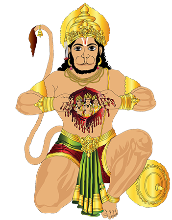 The Bollywood Ending - Hanuman PNG
