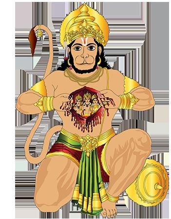 Hanuman PNG - 19356