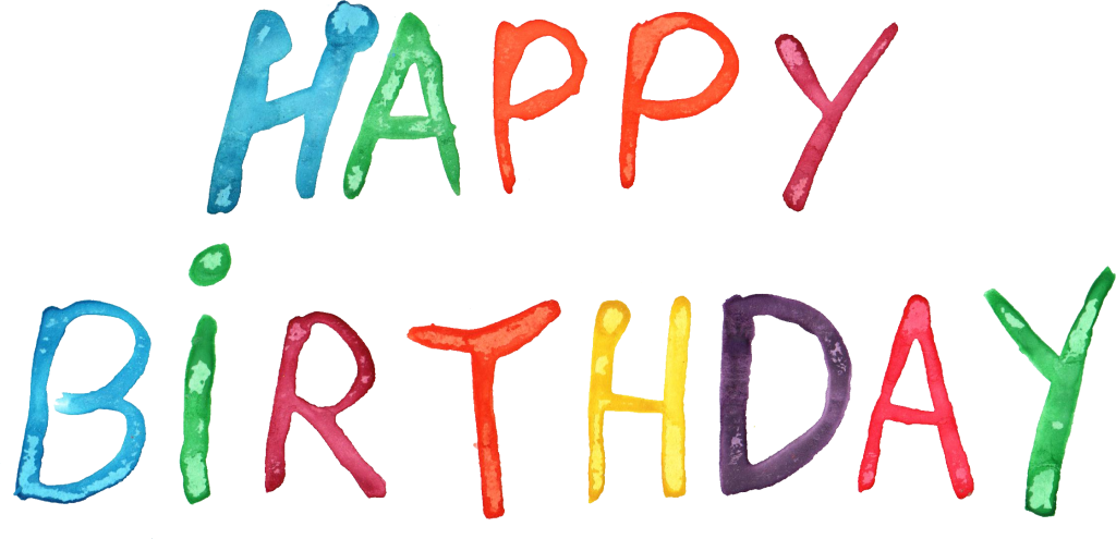 File format: PNG File size: 776.07 KB Free Download (happy-birthday -bday-watercolor-3.png) - Happy Birthday Day PNG