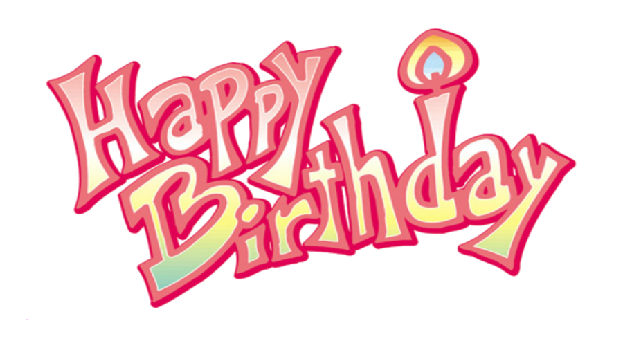 Happy Birthday PNG Transparent Image - Happy Birthday Day PNG