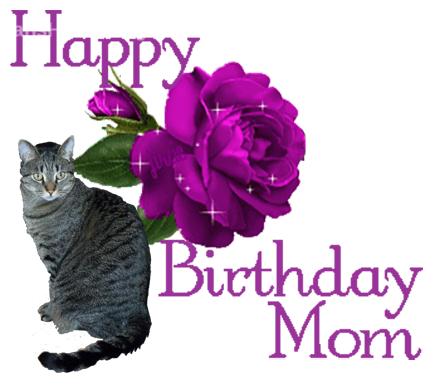 Happy Birthday PNG With Cats Transparent