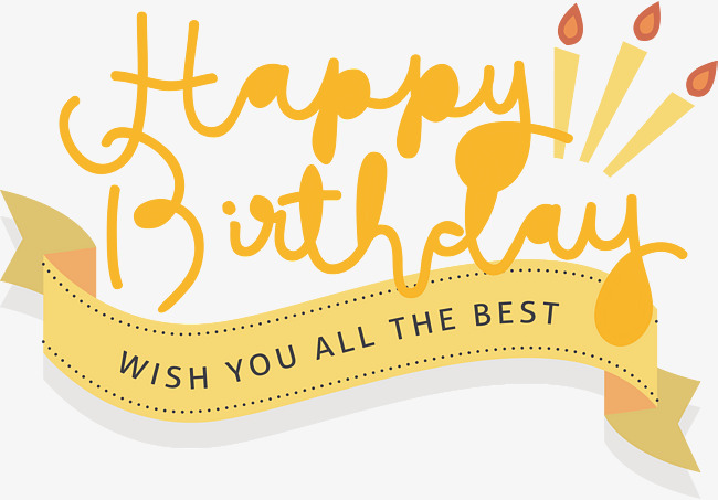 Happy birthday to you!, Vector Png, HappyBirthday, Happy Birthday! PNG and - Happy Birthday To You PNG