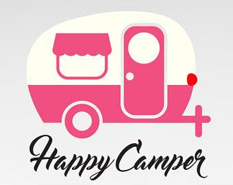 Instant Download Happy Camper SVG Traveler Svg DXF PNG Formats 0022