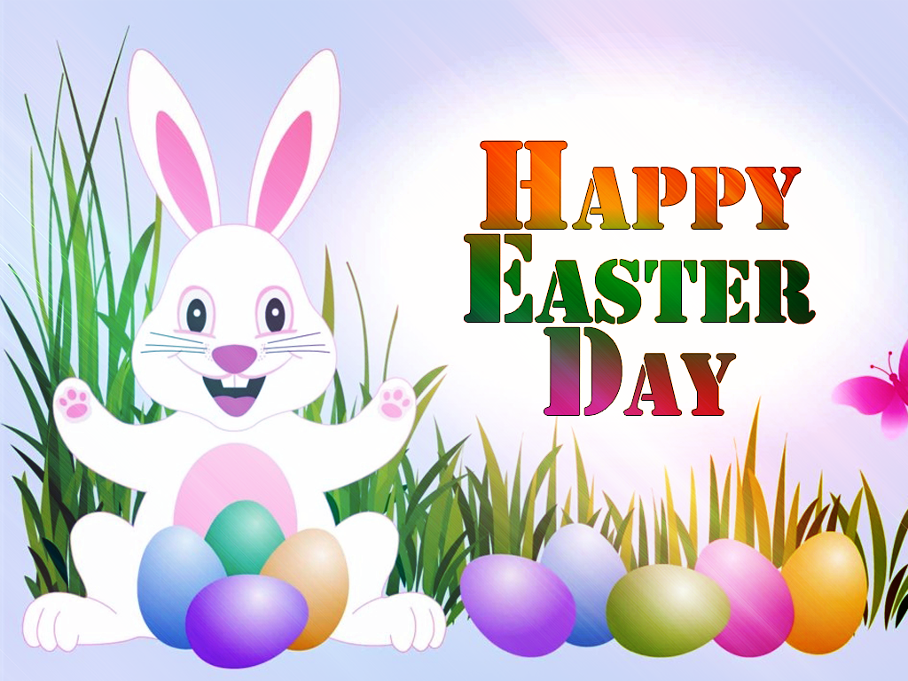 Happy Easter Day Background Wallpaper - Happy Easter Day PNG