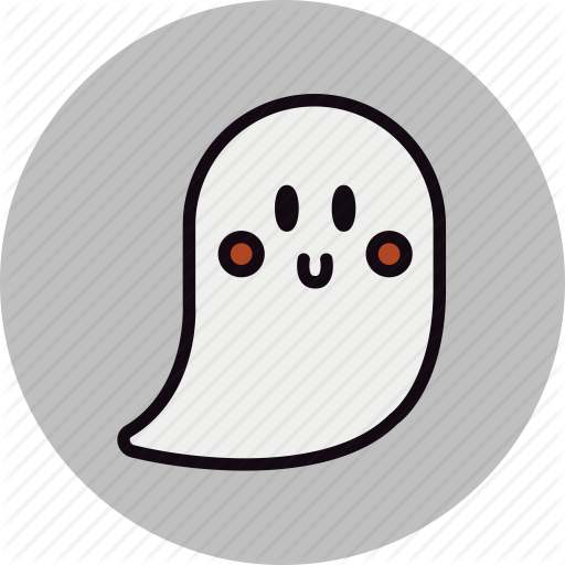 friendly, ghost, halloween, happy, smile icon - Happy Ghost PNG - Happy Ghost PNG HD