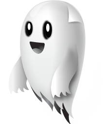 Happy Ghost Cliparts #2453907 - Happy Ghost PNG - Happy Ghost PNG HD