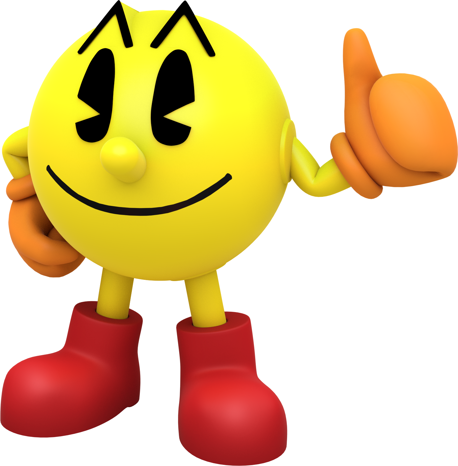 Pac-Man PNG HD - Happy Ghost PNG HD
