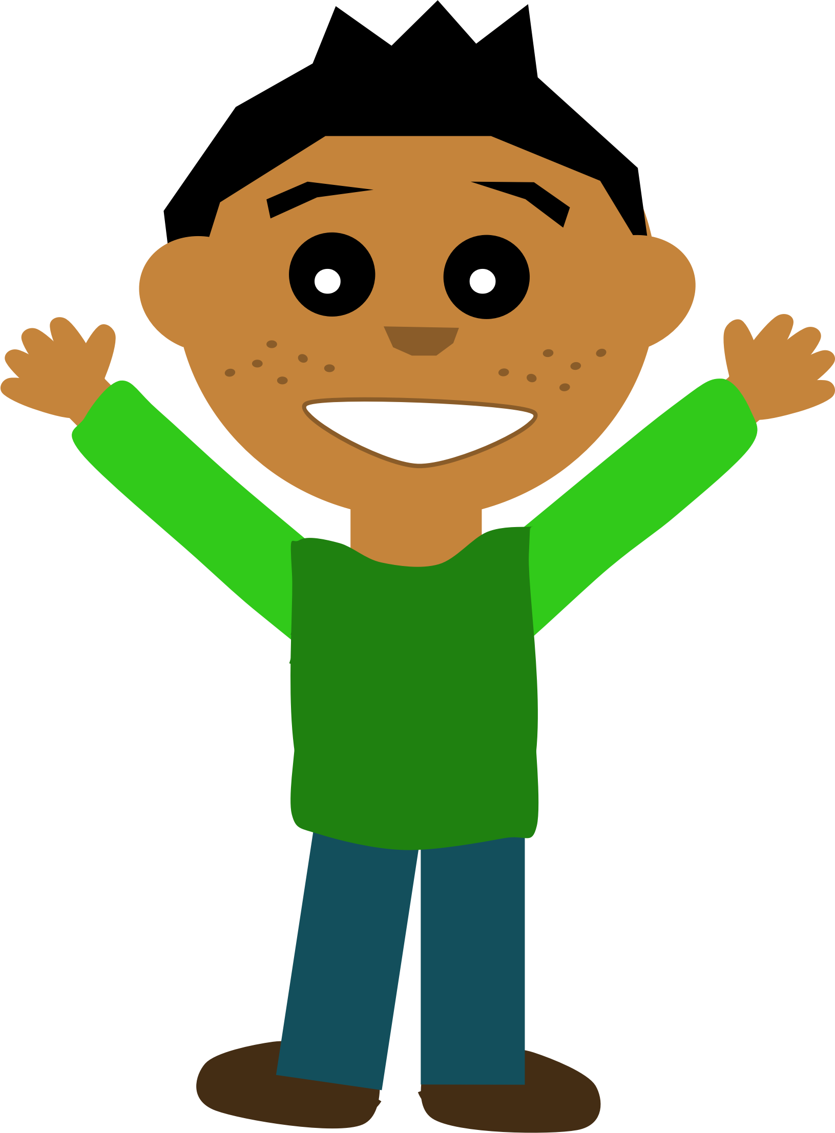 BIG IMAGE (PNG) - Happy Guy PNG