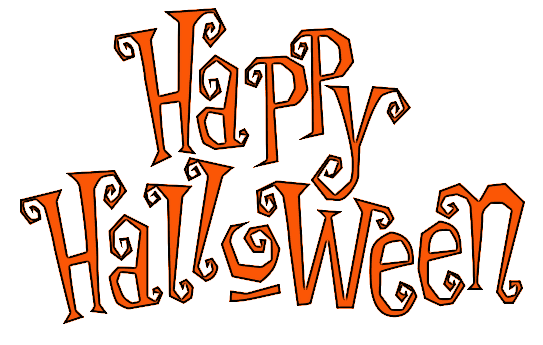 Happy Halloween festive outline - /holiday/halloween /spooky_words/other_halloween/Happy_Halloween_festive_outline.png.html - Happy Halloween PNG
