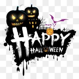 Happy Halloween Happy,Halloween · PNG PSD - Happy Halloween PNG