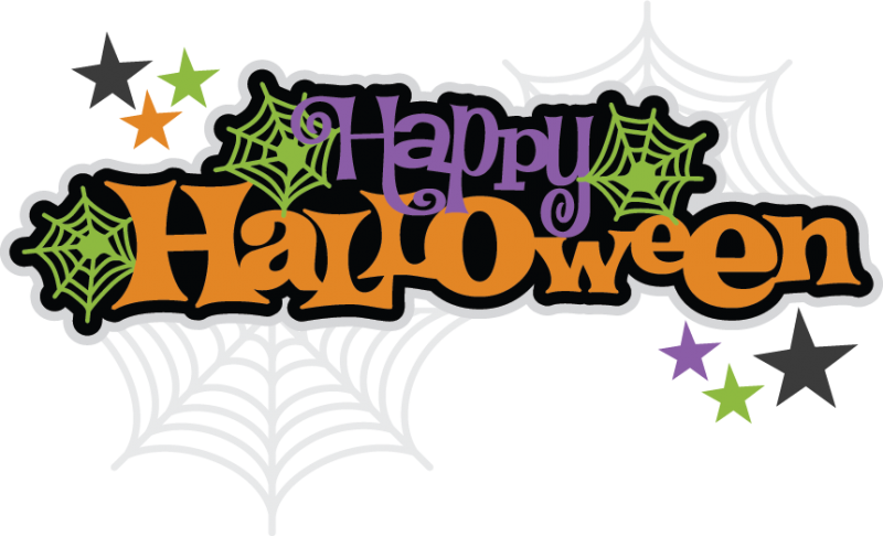 Happy Halloween Text PNG Pict