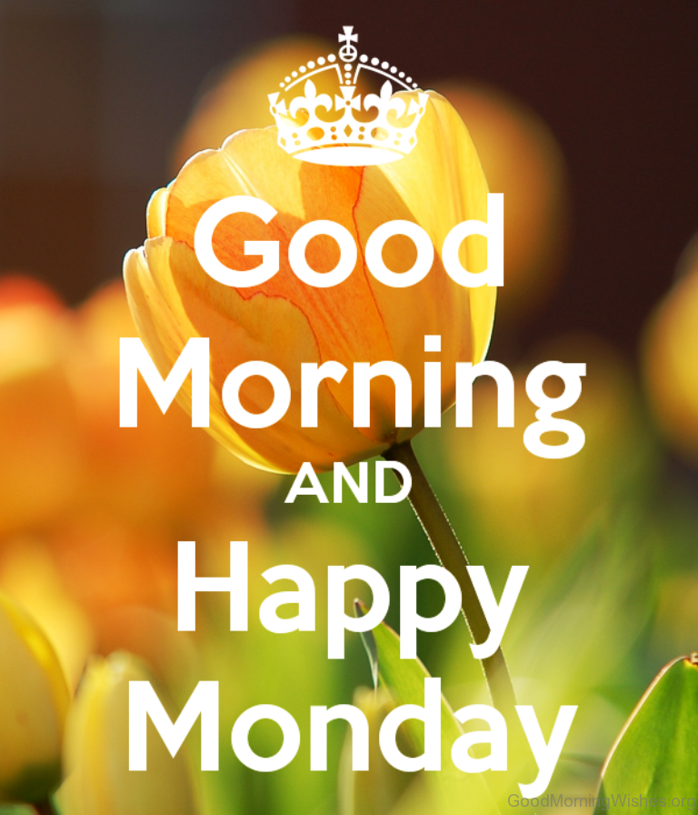 Happy Monday PNG HD - 131286
