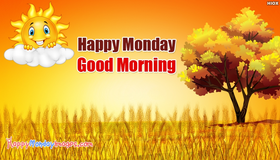 Happy Monday PNG HD - 131293