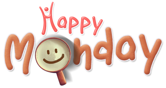 Happy Monday PNG HD - 131279