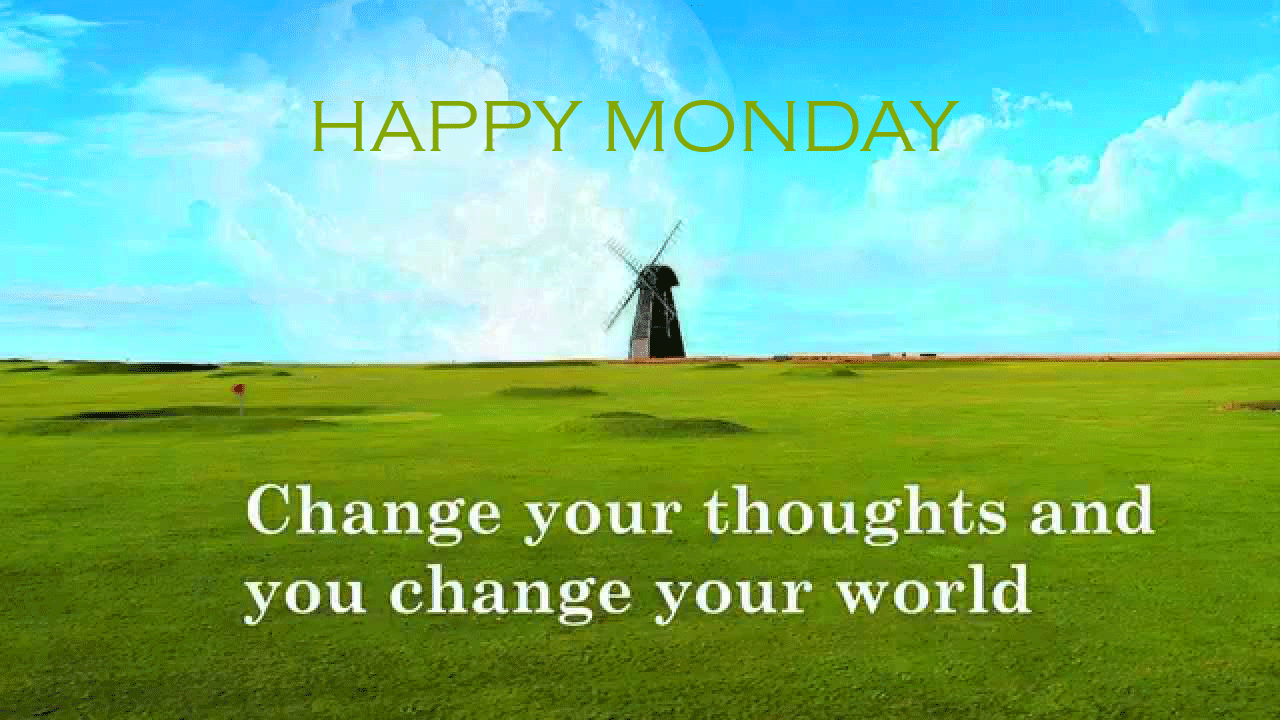 Happy Monday PNG HD - 131287