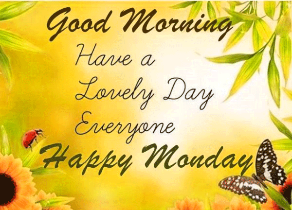 Happy Monday PNG HD - 131282
