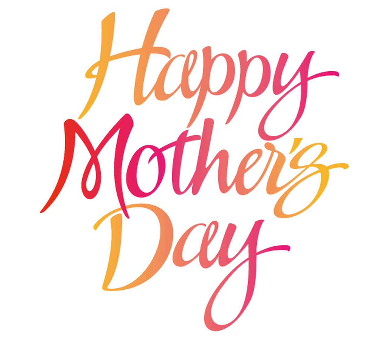 Happy Mothers day quotes from daughter u0026 daughter in law 2017 u2013 The day has  come - Happy Mothers Day Sign PNG