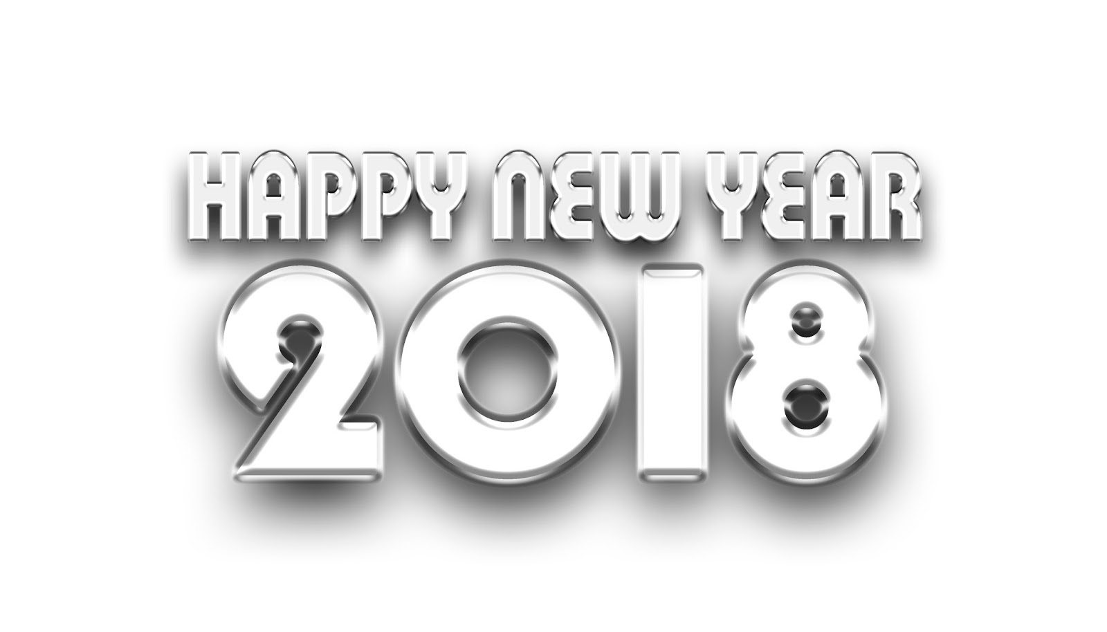 Happy New Year 2018 PNG PlusPNG.com 1600   Happy New Year 2018