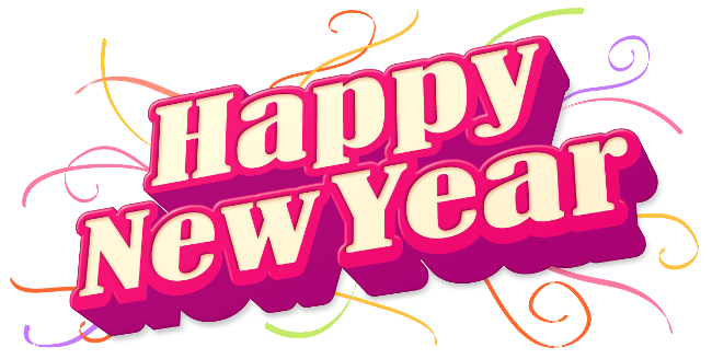 Happy New Year 2018 PNG - 85013