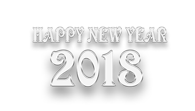 Happy New Year 2018 PNG - 85008