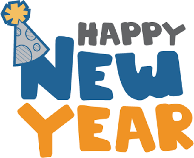 Happy New Year 2018 PNG - 85018