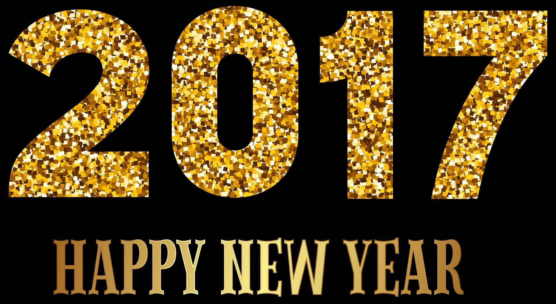 Happy New Year 2018 PNG - 85016