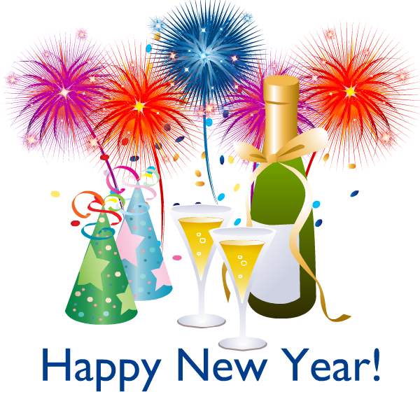 Happy New Year PNG - 20797