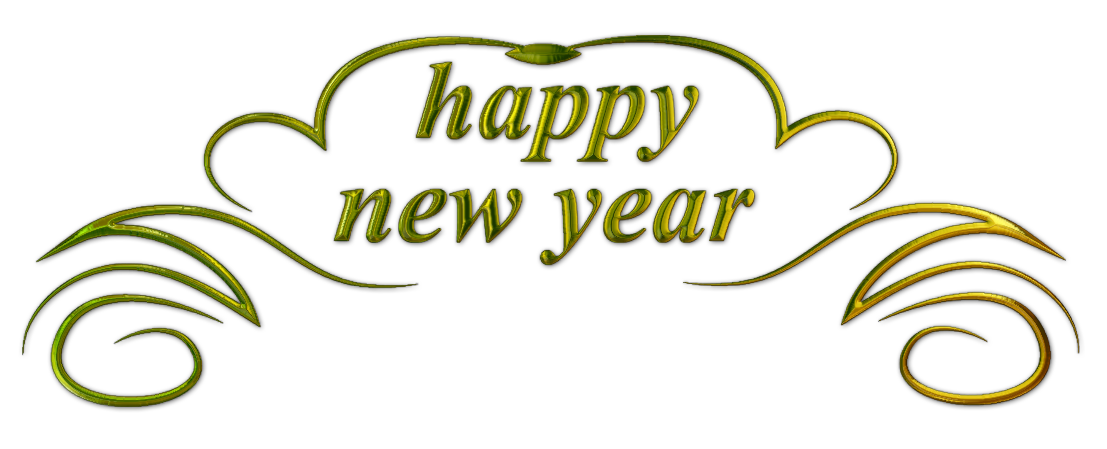 File:Happy New Year text 3.png - Happy New Year PNG