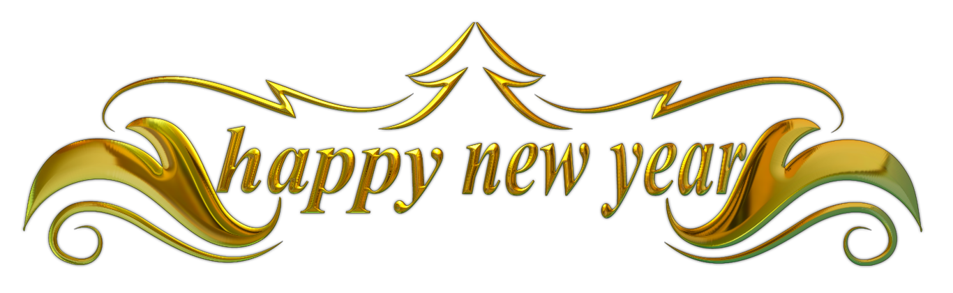 Happy New Year Transparent Background 9