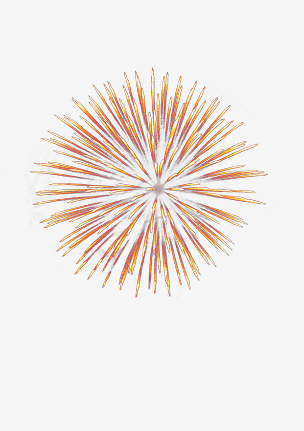 Happy New Year PNG Fireworks - 164409