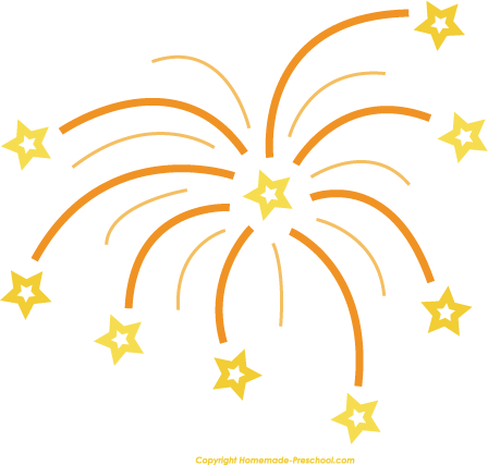 New year fireworks clip art happy new year 6 image - Happy New Year PNG Fireworks