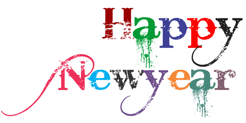 Happy New Year PNG - 20784