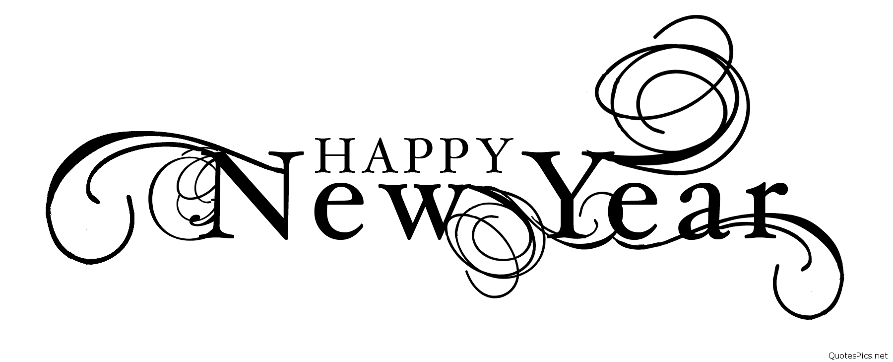 Happy New Year PNG - 20796