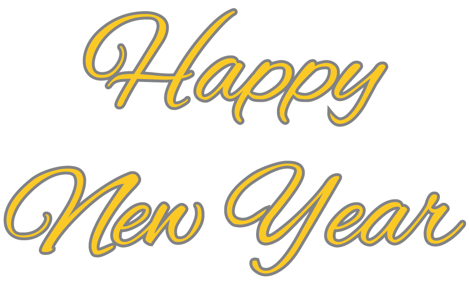 Happy New Year PNG - 20793