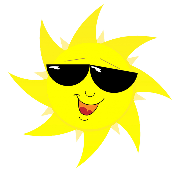 Happy Sun PNG No Background - 144369