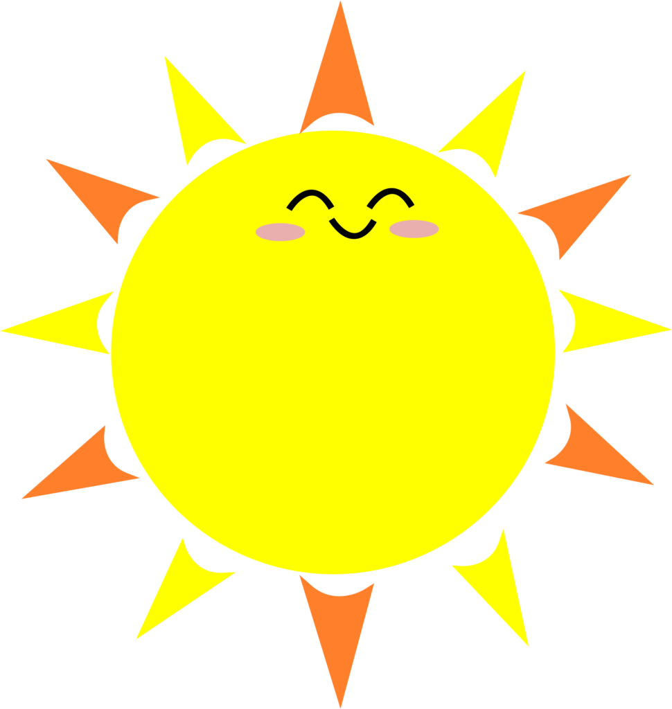 Happy Sun PNG No Background - 144366