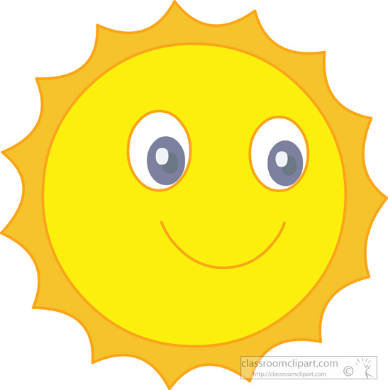 Happy Sun PNG No Background - 144373