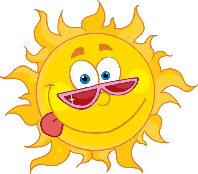 S sun sssss sssss sssss silly happy sun cartoon wearing shades posters - Happy Sun PNG No Background