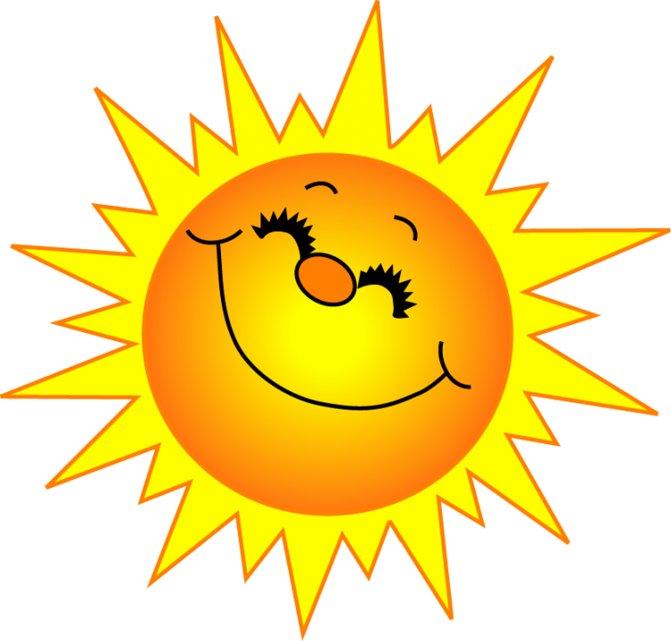 sun clipart - Happy Sun PNG No Background