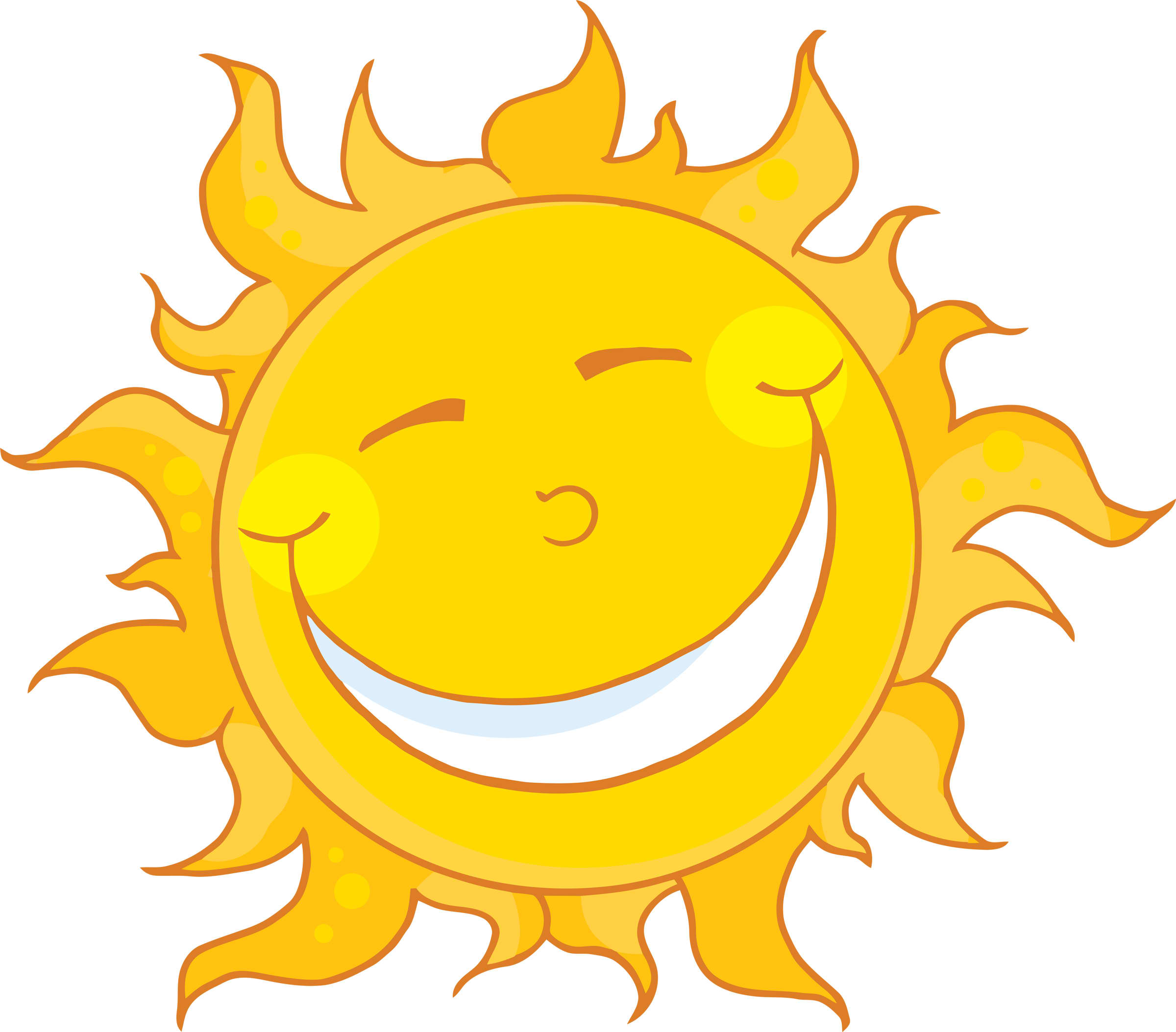 Happy Sun PNG No Background - 144363