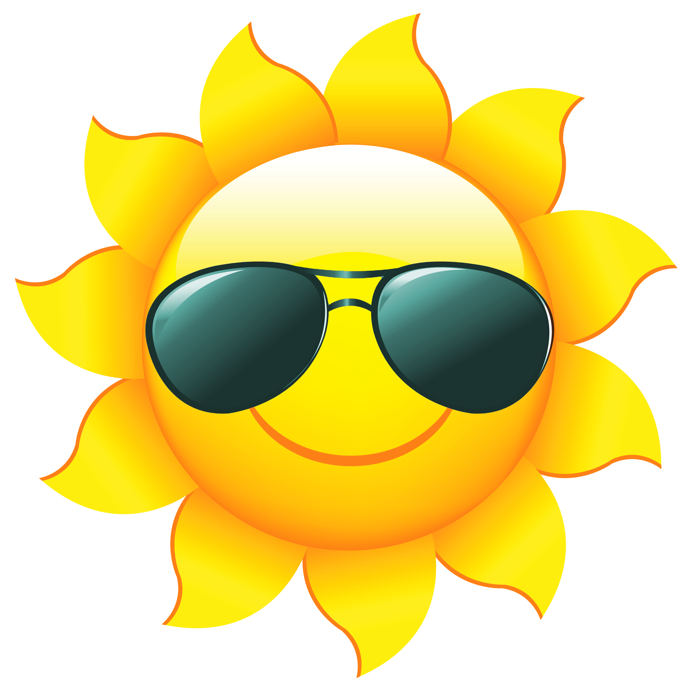 Happy Sun PNG No Background - 144355