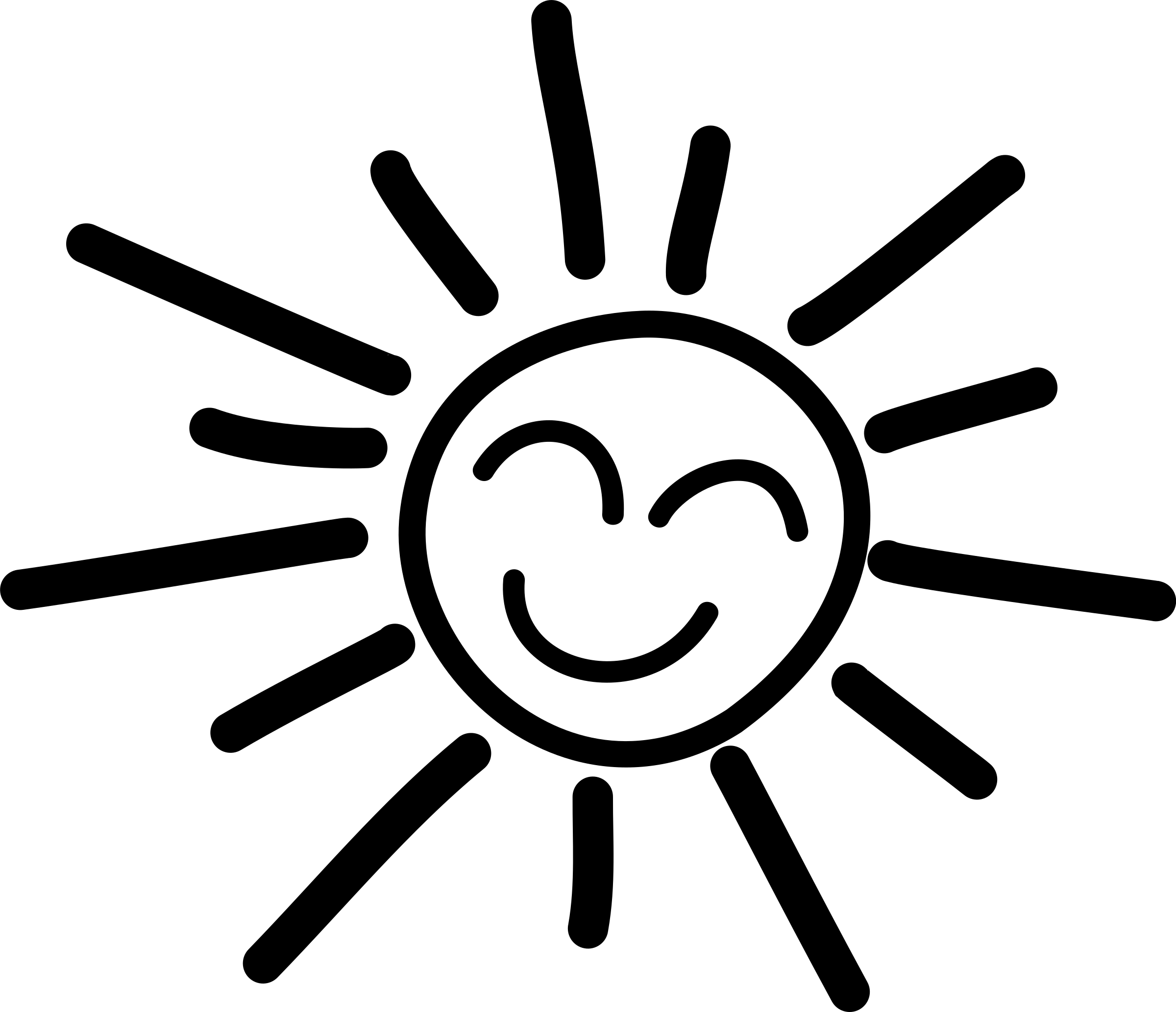 Happy Sun PNG No Background - 144364
