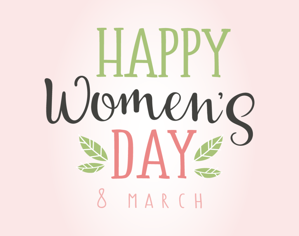happy-womens-day_pink - Happy Womens Day PNG