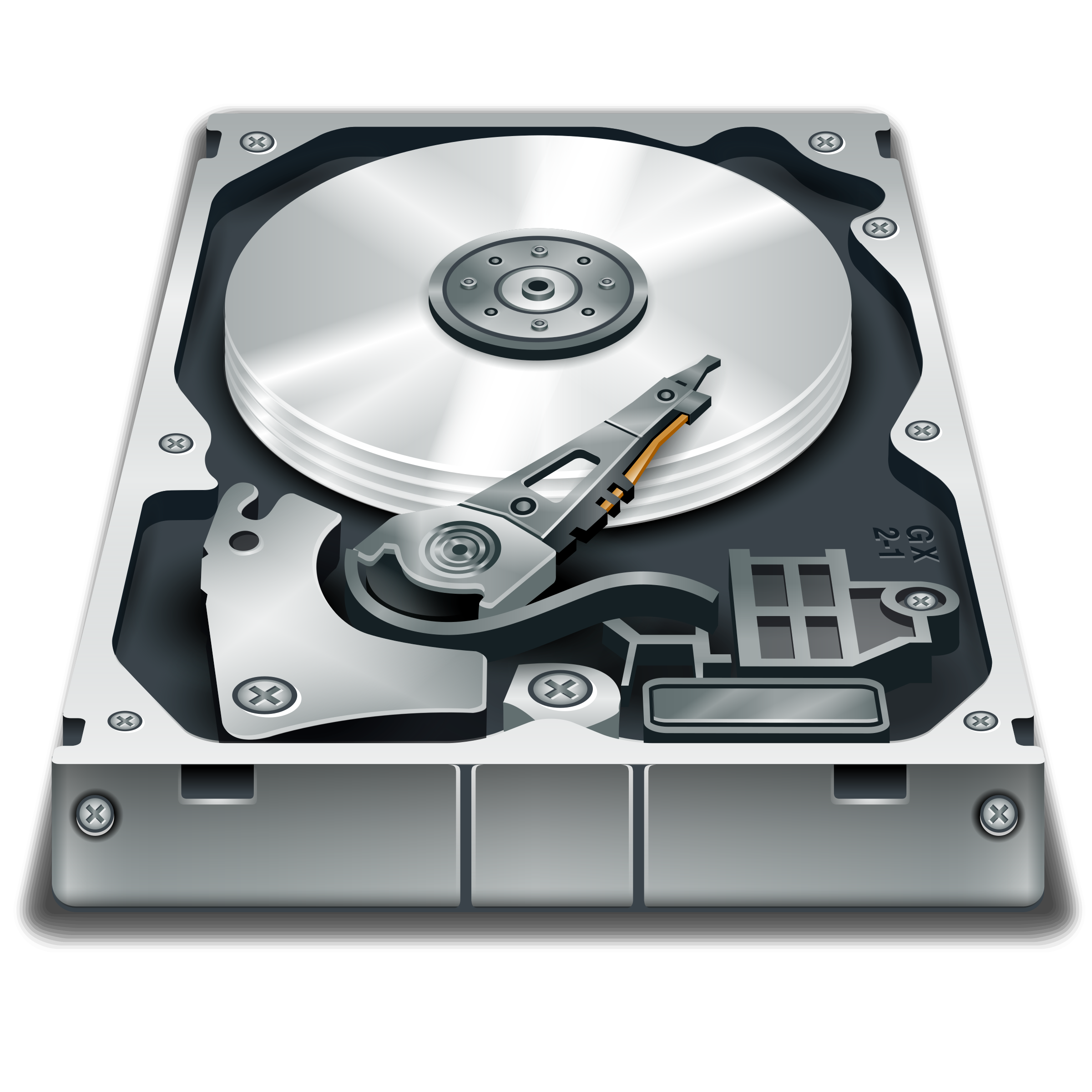 Hard disc PNG - Harddisk HD P