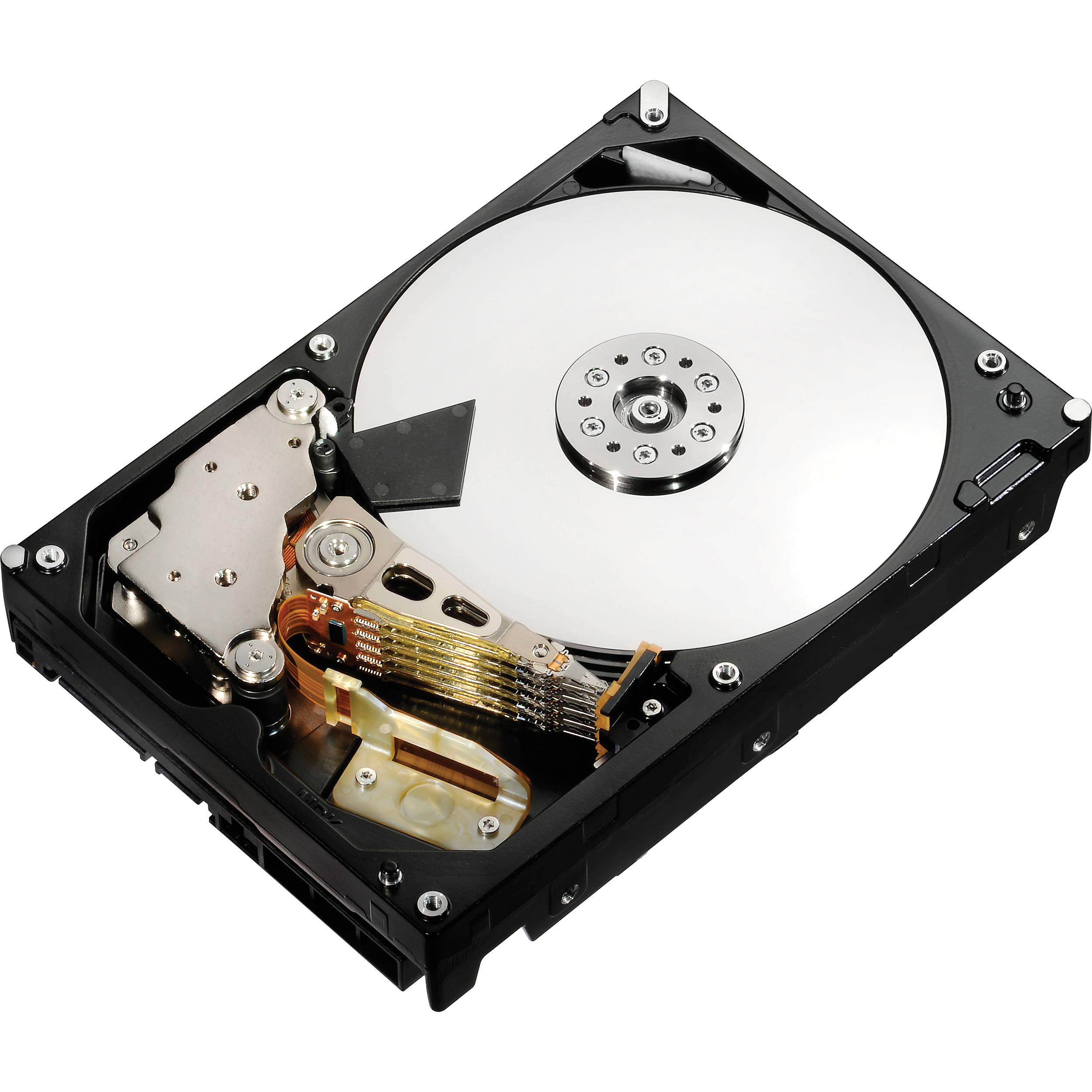 HGST 2TB HUS724020ALE640 UltraStar 7K4000 HDD - Hard Drive PNG HD