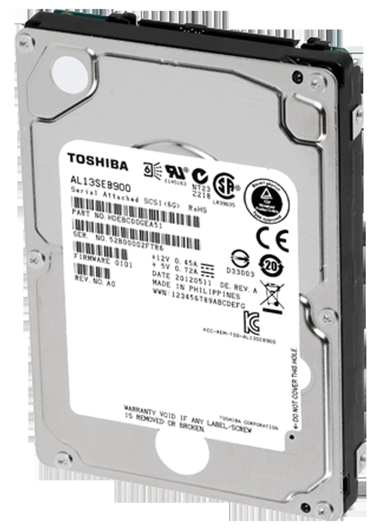 TOSHIBA ANNOUNCES NEXT-GENERATION 10,000 RPM-CLASS ENTERPRISE STORAGE HARD  DISK DRIVE SERIES - Press - Toshiba - Hard Drive PNG HD